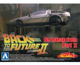 BACK TO THE FUTURE 1/43 Pullback DELOREAN from PART 2