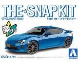 1/32 Toyota 86 Sports Car (Snap Molded in Blue)