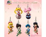 Sailor Moon Twinkle Dolly Vol 1 Mini Strap Trading Figures (6 packs)