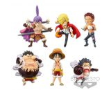 ONE PIECE WORLD COLLECTABLE FIGURE-Battle of Luffy Whole Cake Island-