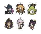 Nendoroid Plus Collectible Rubber Keychains 02