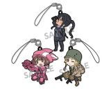 Pikuriru! Sword Art Online Alternative Gun Gale Online Rubber Strap Set