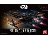 "Poe's Boosted X-Wing ""Star Wars"", Bandai Star Wars 1/72 Plastic Model"