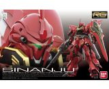 "RG MSN-06S Sinanju ""Gundam UC"" Action Figure (1/144 Scale)"