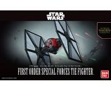 Star Wars First Order Special Forces Tie Fighter, 1/72 Scale Bandai Hobby