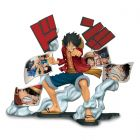ONE PIECE STORY - AGE Monkey. D. Luffy