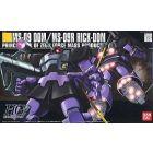 MS-09 Dom / MS-09R Rick-Dom Bandai HGUC 1/144