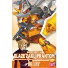 #7 Heine's Blaze Zaku Phantom 1/100, Bandai Seed Destiny