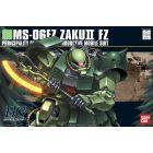 "HGUC 1/144 #87 MS-06F Zaku II FZ ""0083: Stardust Memory"" Model Kit"