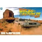 1/24 BACK TO THE FUTURE DELOREAN from PART III & RAILROAD Ver.