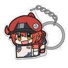 Red Blood Cell Acrylic TSUMAMARE Keychain