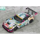 1/64 Scale Good Smile Hatsune Miku AMG 2017 SUPER GT Ver.