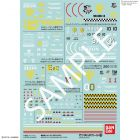 "Gundam Decal No.110 Multi-Use ""Mobile Suit Gundam MSV"", Bandai Decals"