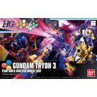 "HGBF Gundam Tyron 3 ""Gundam Build Fighters"" Model Kit Action Figure (1/144 Scale)"