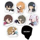 Magnet clip Collection of GENCO SWORD ART ONLINE THE MOVIE -Ordinal Scale-