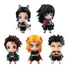 Demon Slayer Tanjiro and the HASHIRAs Mascot Set A