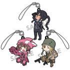 Pikuriru! Sword Art Online Alternative Gun Gale Online Rubber Strap Set