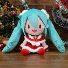 """Hatsune Miku Series SP Fuwafuwa Plush """"Hatsune Miku"""" Christmas 2020 A: Red"""