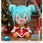 Hatsune Miku Christmas 2021 SP Fluffy Plush