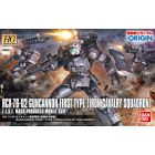 HG The Origin 1/144 Guncannon First Type (Iron Cavalry Company) Gundam The Origin Building Kit