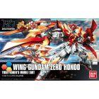"""HGBF Wing Gundam Zero Flame (Honoo) """"Gundam Build Fighters"""" Model Kit, 1/144 Scale"""