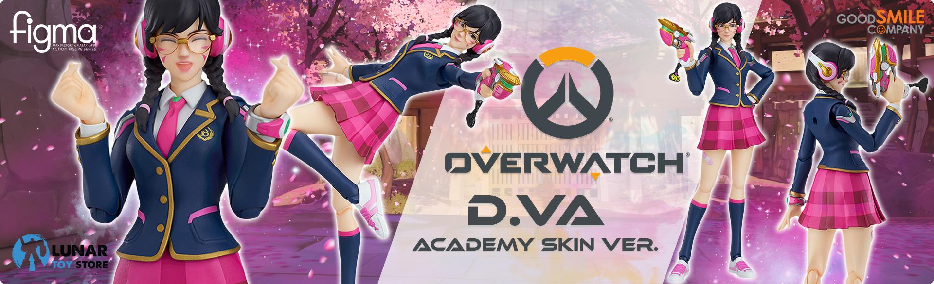 D.Va: Academy Skin Ver. figma