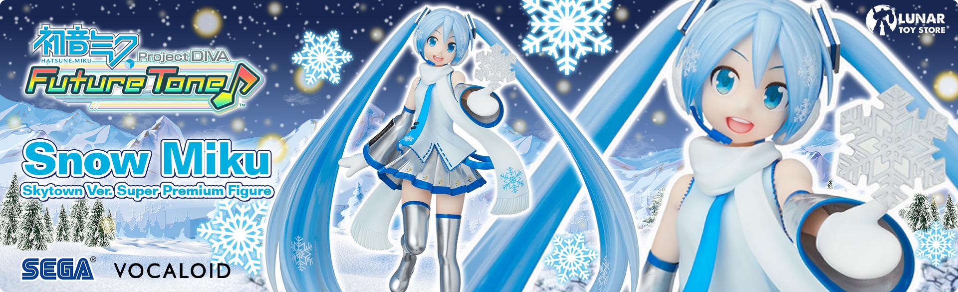 Hatsune Miku Snow Miku Skytown