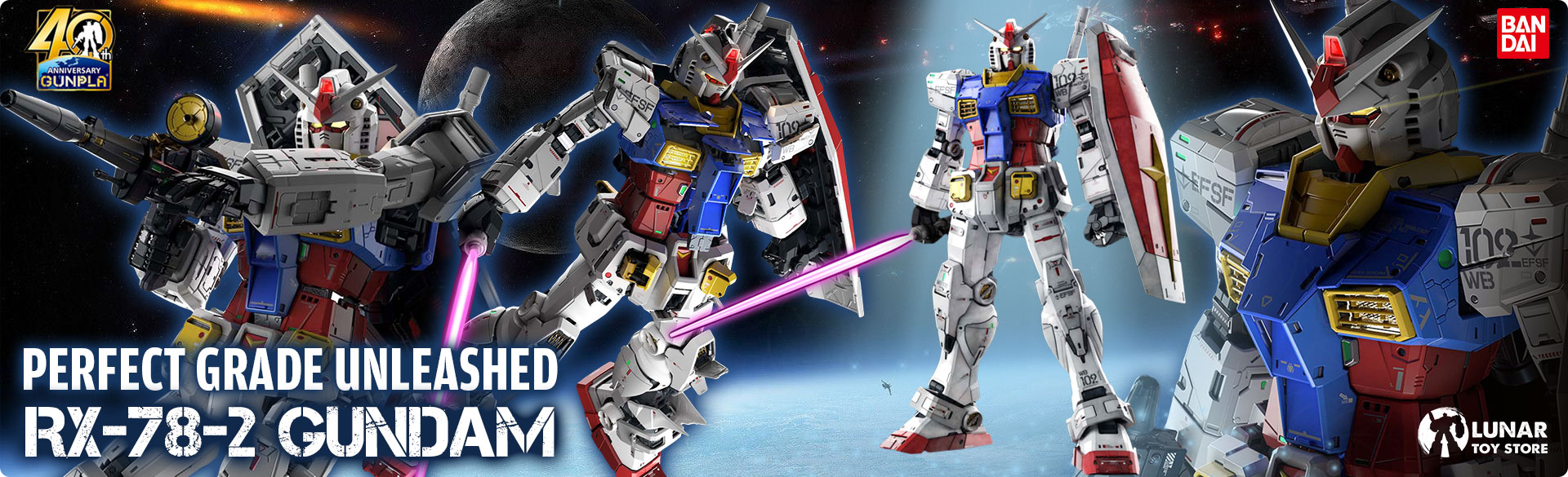 RX-78-2 Gundam PG Unleashed
