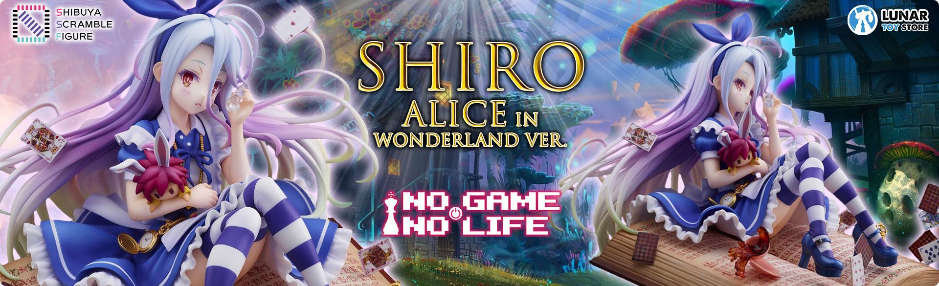 Shiro Alice in Wonderland Ver